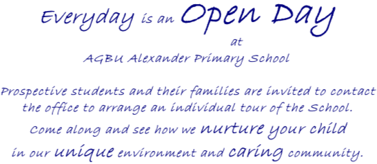 Every Day is an Open Day